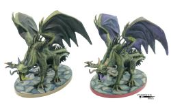 Shadow Dragons, these hadextra scales added through the use of Green Stuff to add more texture