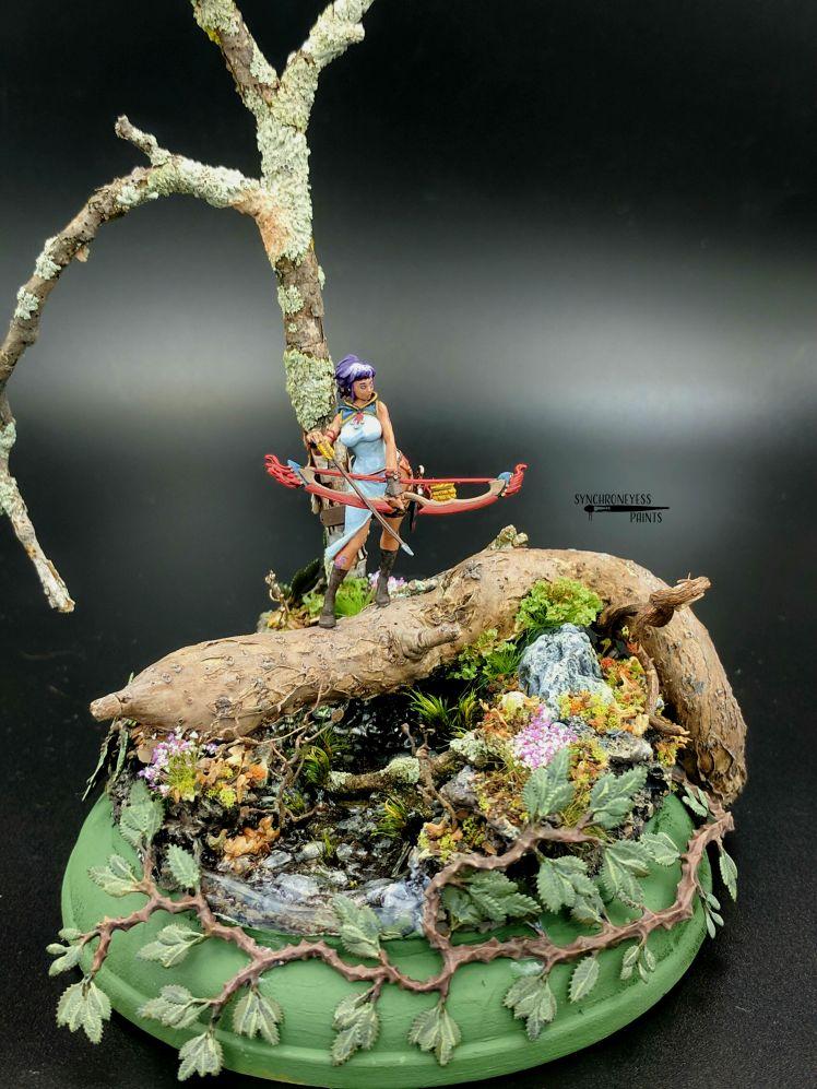 KD Ranger Diorama Figure 2