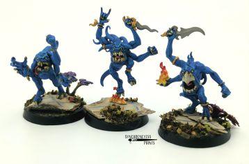 Blue Horrors by John