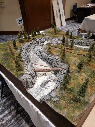 Loved the Plexiglass over the downed trees so you could move your armies across